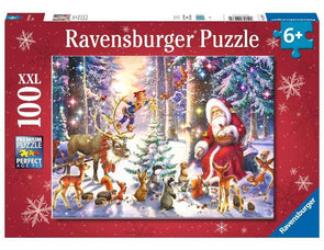 Christmas in the Forest Ravensburger 100 piece puzzle