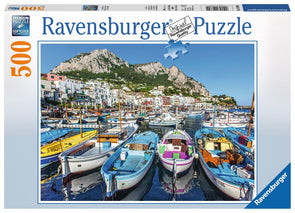 Ravensburger Colorful Marina 500 piece puzzle