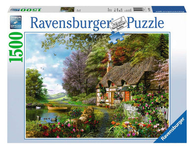 Country Cottage Ravensburger 1500 piece Puzzle