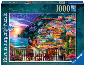 Ravensburger Dinner in Positano 1000 piece puzzle