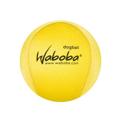 The Fetch ball dog toy from Waboba is a water bouncing ball for the lake or ocean
