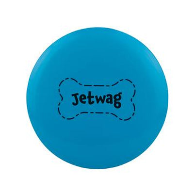 Jetwag Disc dog toy from Waboba is a durable, soft rubber disc