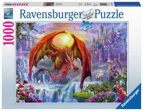 Dragon Kingdom Ravensburger 1000pc Puzzle