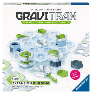 GraviTrax marble run expansion building