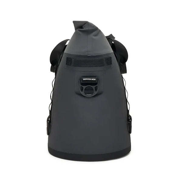 YETI Hopper M30 Soft Cooler Side View - Charcoal
