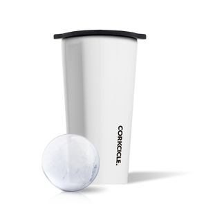 Corkcicle Invisiball Kit in Gloss White