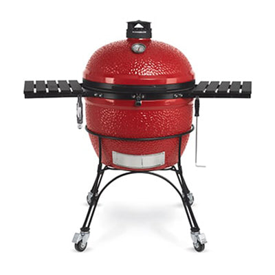 Kamado Joe - Big Joe II 24 Inch Free Standing Red Ceramic Grill