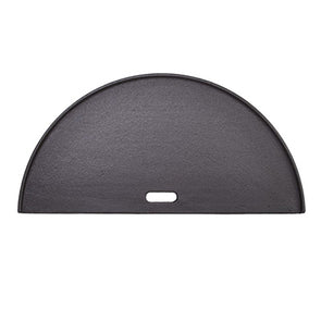 Kamado Joe - Half Moon Cast Iron Reversible Griddle for Big Joe