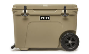 YETI Tundra Haul cooler in Tan