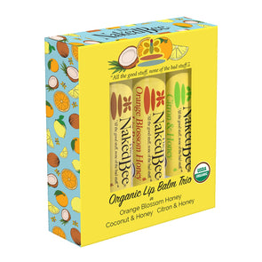 Naked Bee Lip Balm Gift Set