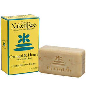 Oatmeal and Honey Triple Milled Soap from The Naked Bee