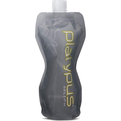 Platypus Soft Bottle .5L - Gray