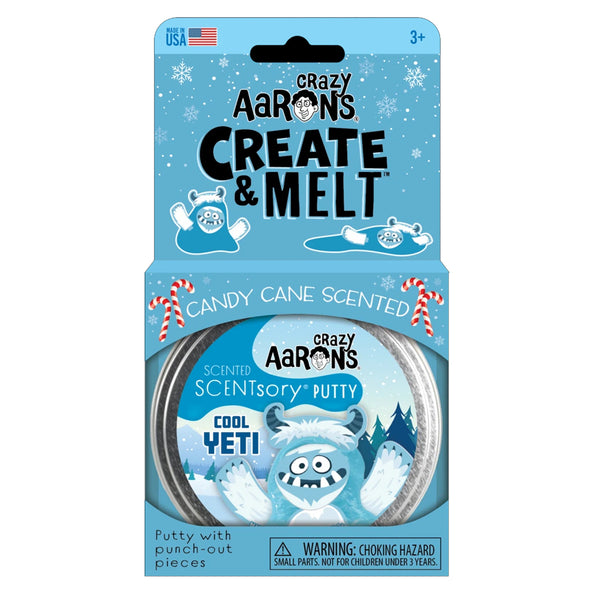 Crazy Aaron Scentsory and Create & Melt Cool Yeti Thinking Putty