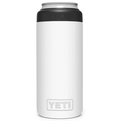 YETI Slim Can Colster in White