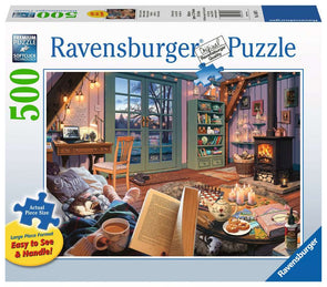 The Cozy Retreat Ravensburger 500 Large Piece Puzzle