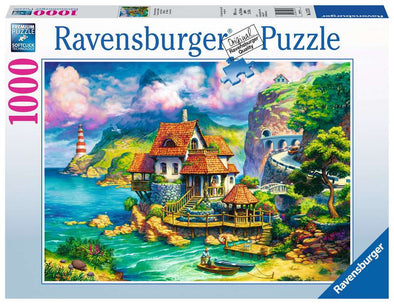 The Cliff House Ravensburger 1000 piece Puzzle