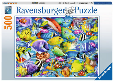 Ravensburger Tropical Traffic 500 piece puzzle