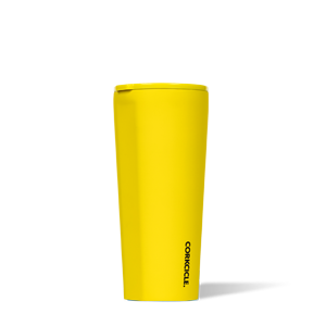 Corkcicle Neon Lights Tumbler Collection - 24 ounce Tumbler in Neon Yellow
