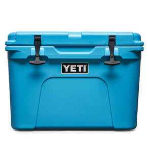 YETI Tundra 35 Hard Cooler in Reef Blue