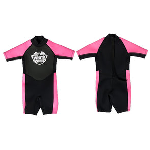 Girl's Pink Wetsuit from White Knuckle