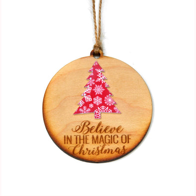 Driftless Studios - Believe In The Magic Of Christmas Ornament