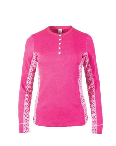 Dale of Norway women's Bykle sweater in pink