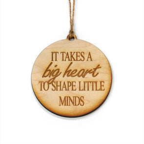 Driftless Studios - It Takes A Big Heart Christmas Ornament