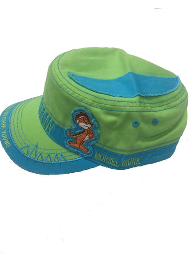 Fidel Hat - Morsel Munk Have Fun Grow Young in Lime Green