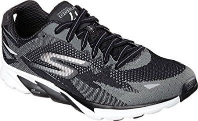 Skechers women's go run 4 shoes in black and white