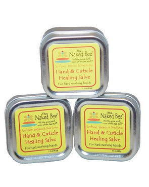 Hand and cuticle healing salve from The Naked Bee