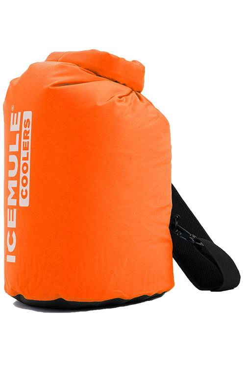 IceMule 20 liter classic soft cooler in orange