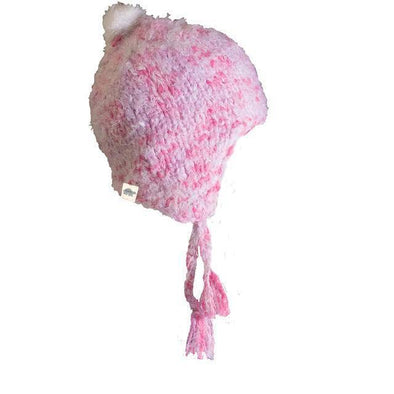 Turtle Fur Jewel kids hat in bubble gum color