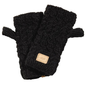 Turtle Fur Nepal mika fingerless mittens