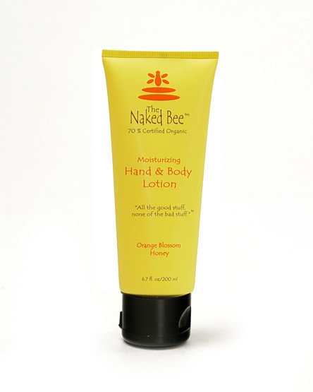 Orange Blossom Honey hand lotion from The Naked Bee