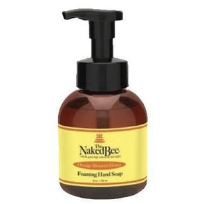 Orange blossom honey foaming hand soap from The Naked Bee