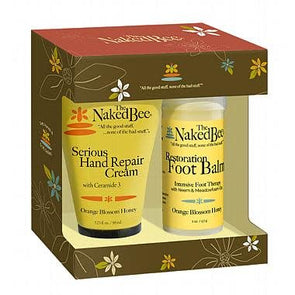 Orange blossom honey hand and feet lotion from The Naked Bee