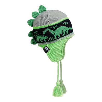 Turtle Fur Doctor Dino kid's hat in Day Glo