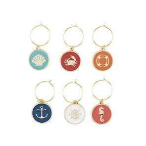 Seashore Wine Charms By Blush