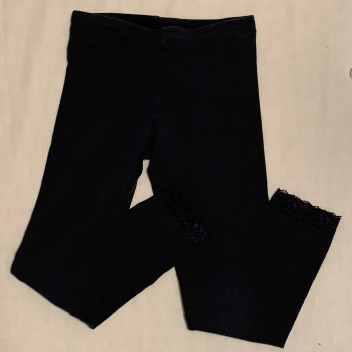 Old navy navy blue leggings Size 8