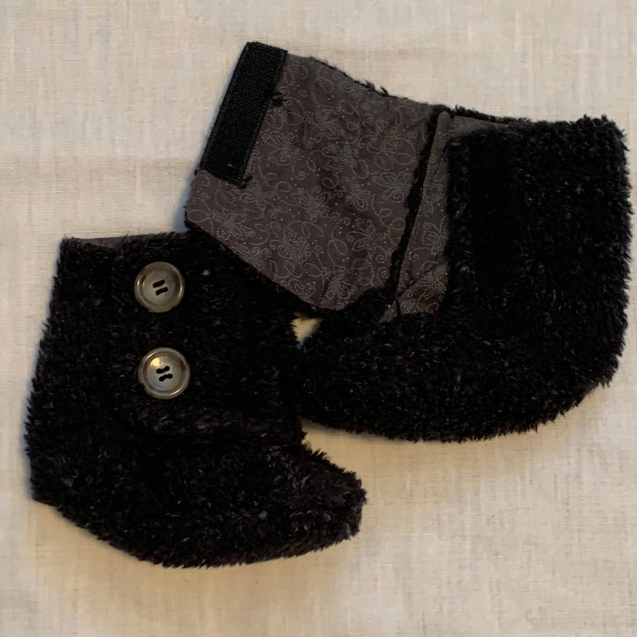 Infant slippers hand made Size 18-24M