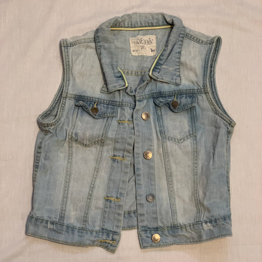 Jean vest I love denim