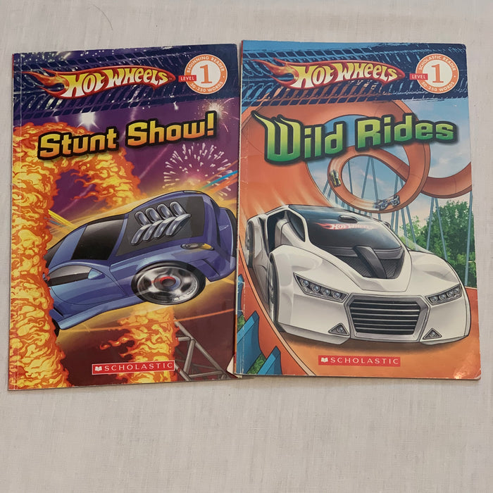 Hot wheels level 1 readers