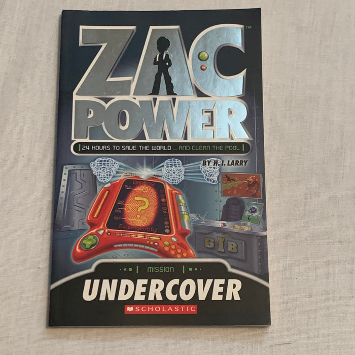 Zac Power mission undercover