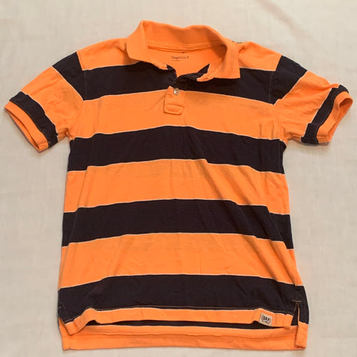 Gap kids stripped golf shirt 8(M)
