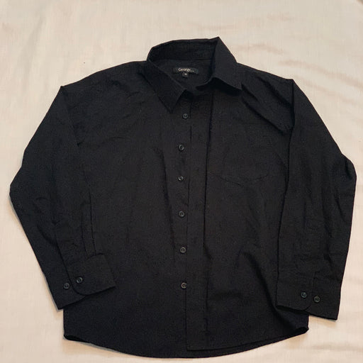 George like new black button down size 10