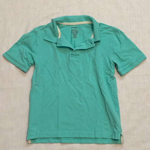 George teal golf shirt size 6X