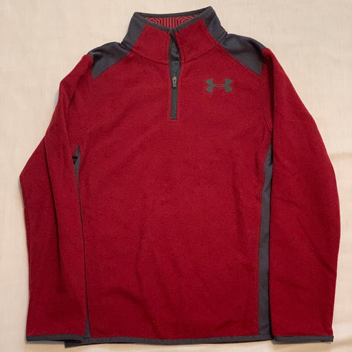 Under armour fleece pull over size 10-12 YMD