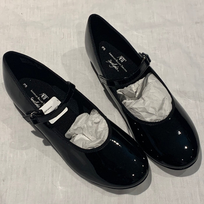 ABT Black tap shoes brand new Size 3