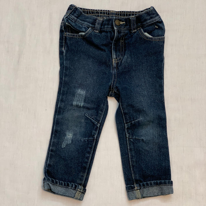 Joe fresh distressed jeans Size 18-24M