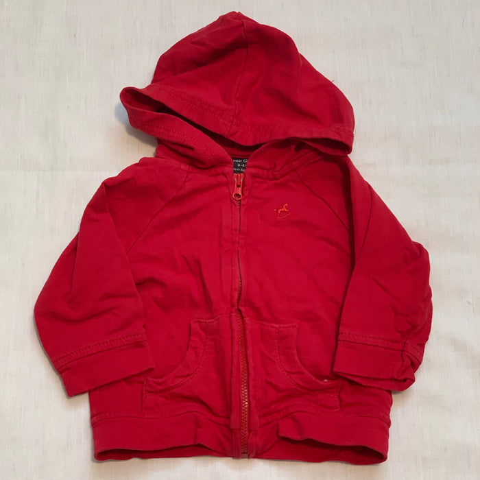 Faded glory red sweatshirt Size 3-6M